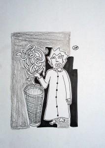 filippo biagioli analphabetic art disegno criba da fumetto criba