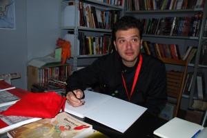 filippo biagioli disegna volume criba il divoratore di affetti lucca comics 2011