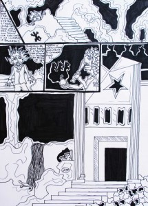 filippo biagioli criba fumetto analphabeta tavola 8