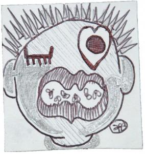 filippo biagioli analphabetic art disegno carta drawing arte