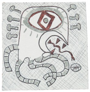 filippo biagioli analphabetic art disegno drawing carta lapis biro