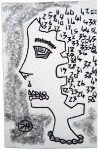 filippo biagioli disegno biro lapis mente matematica