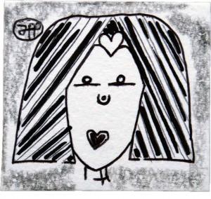filippo biagioli disegno biro lapis parlo d amore