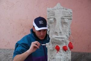 filippo biagioli scultura calcestruzzo vendone savona