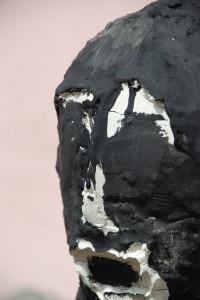 filippo biagioli particolare volto feticcio nero