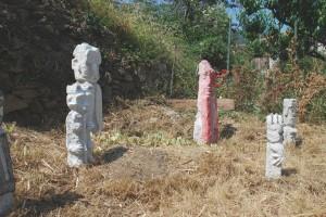 filippo biagioli insieme di statue vendone
