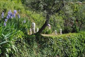 Museo sul territorio delle opere di Filippo Biagioli giardino rituale Vendone Liguria