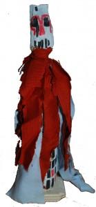 etruria 30x13x12 2010 scultura rituale arte tribale contemporanea arte tribale europea european tribl art contemporary tribal art filippo biagioli