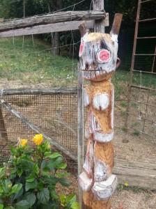 spirit figure filippo biagioli arte tribale contemporanea giardino tribale podere la fornace