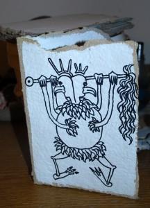 filippo biagioli carta rituale fatta a mano base disegno handmade