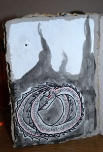 filippo biagioli disegno libro rituale carta fatta a mano handmade paper