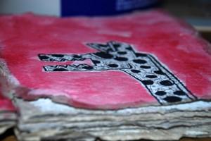 filippo biagioli disegno libro rituale carta fatta mano