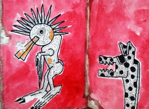 filippo biagioli european tribal art draw on handmade paper