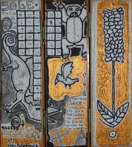 libro da preghiera sole oro filippo biagioli arte tribale europea