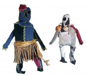 primitive doll filippo biagioli arte tribale europea
