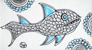 filippo biagioli santino 9x5 2014 tecnica mista su carta spessa 17
