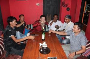 Nepal agosto 2014 andrea mordacci al centro