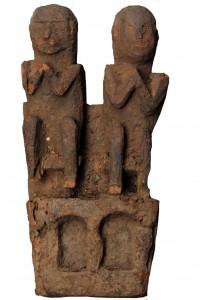 Nepal agosto 2014 coppia figura arte primaria