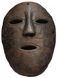 Nepal agosto 2014 maschera arte primaria
