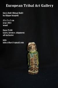 gio'o doll european tribal art gallery filippo biagioli 1
