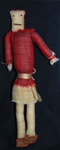 primitive doll 25x6x4 2014