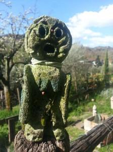 filippo biagioli figura da preghiera giardino tribale serravalle pistoiese