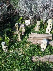 filippo biagioli figure da preghiera giardino tribale serravalle pistoiese
