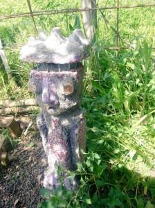 filippo biagioli incensario figure giardino tribale serravalle pistoiese