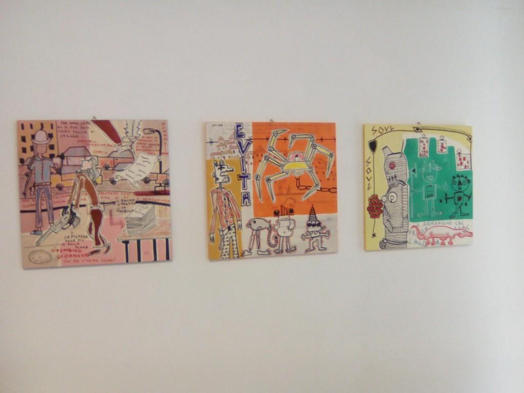dipinti su tavola filippo biagioli tra stupore e innovazione personale galleria viadeimercati vercelli arte tribale contemporanea