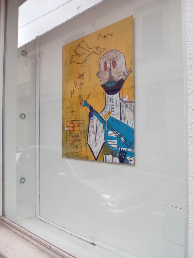 dipinto su tavola filippo biagioli tra stupore e innovazione personale galleria viadeimercati vercelli arte tribale contemporanea