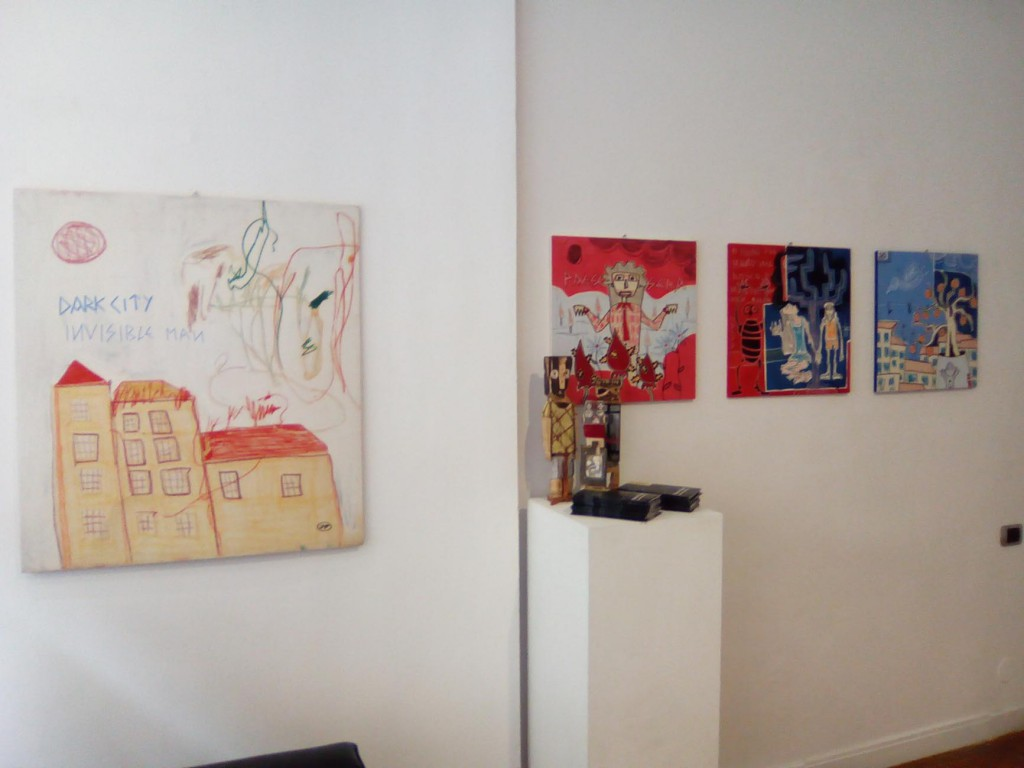 tavole dipinti filippo biagioli tra stupore e innovazione personale galleria viadeimercati vercelli arte tribale contemporanea