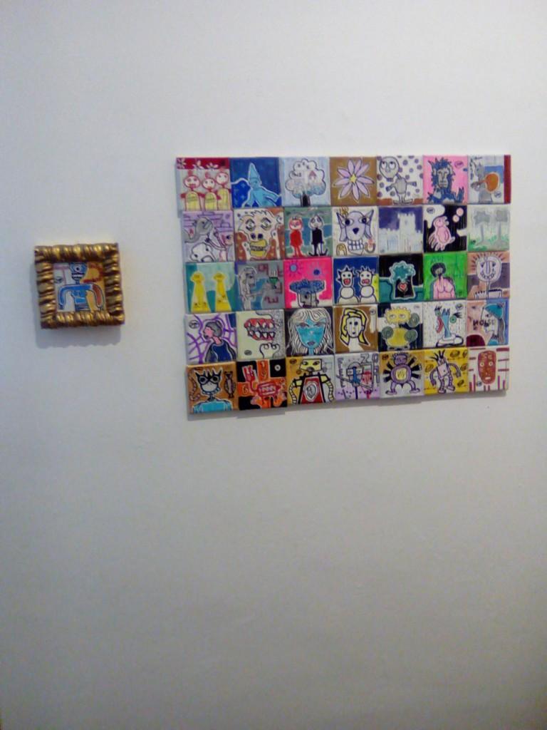 tele 10x10 filippo biagioli tra stupore e innovazione personale galleria viadeimercati vercelli arte tribale contemporanea