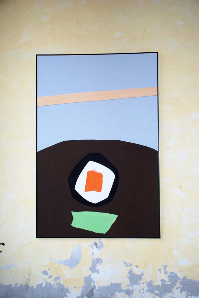 Andrea Mattiello Per Giorgio arte internazionale a Massa pt