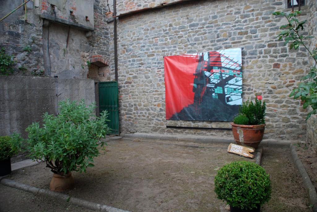 Angela Galli giardino Per Giorgio arte internazionale a Massa pt