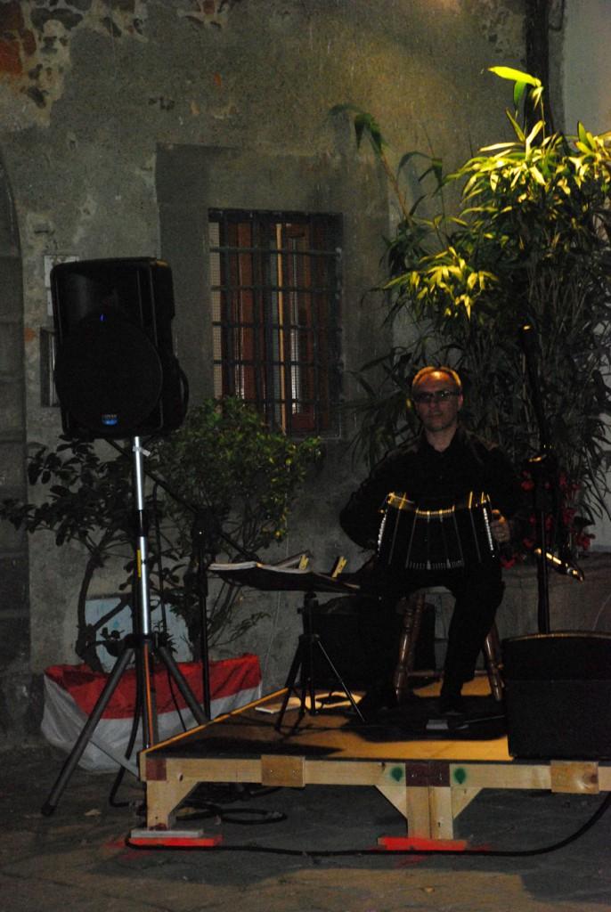 Duo tango argentino Per Giorgio arte internazionale a Massa pt