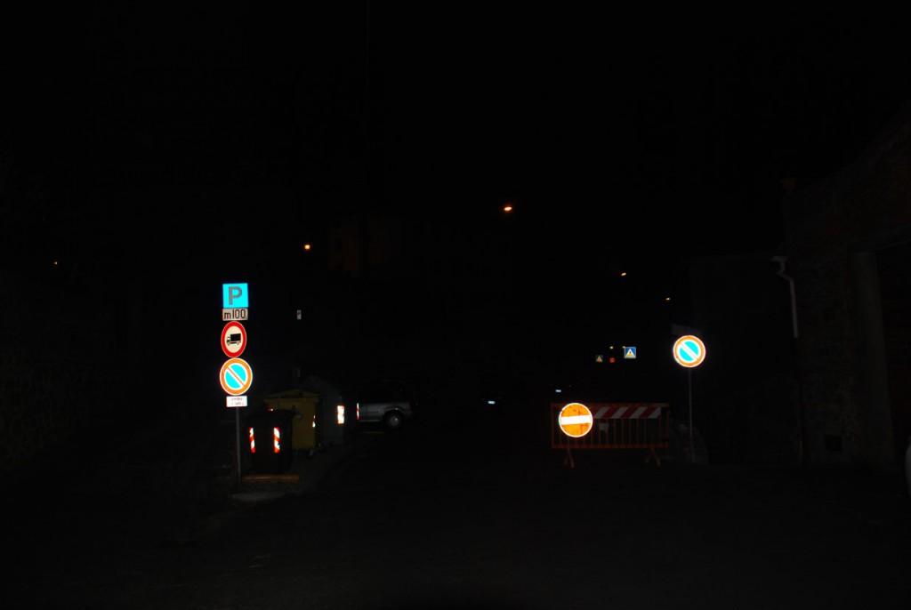 Fotografie Massa di notte Per Giorgio arte internazionale a Massa pt