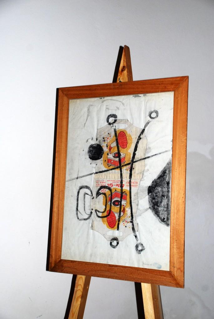 Galeazzo Nardini opera Per Giorgio arte internazionale a Massa pt