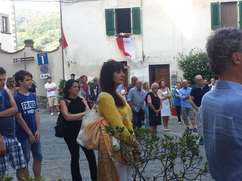 Inaugurazione Filippo Biagioli e Elisabetta Nencini Per Giorgio arte internazionale a Massa pt