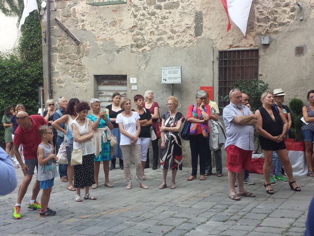 Inaugurazione piazza Per Giorgio arte internazionale a Massa pt