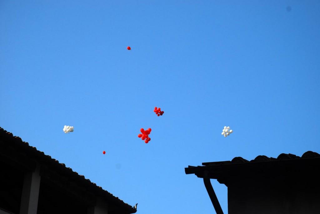 naugurazione vola alto Per Giorgio arte internazionale a Massa pt