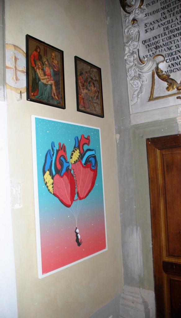 Leonardo Miluccio Per Giorgio arte internazionale a Massa pt
