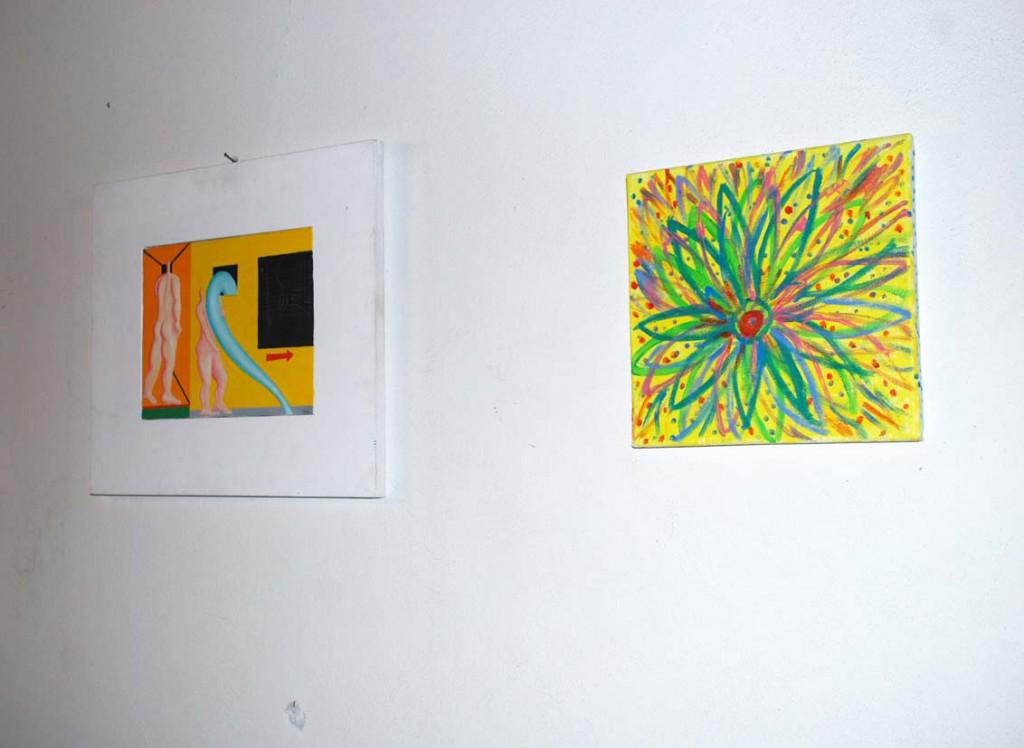 Lorenzo Taddei e Jacqueline Magi Per Giorgio arte internazionale a Massa pt