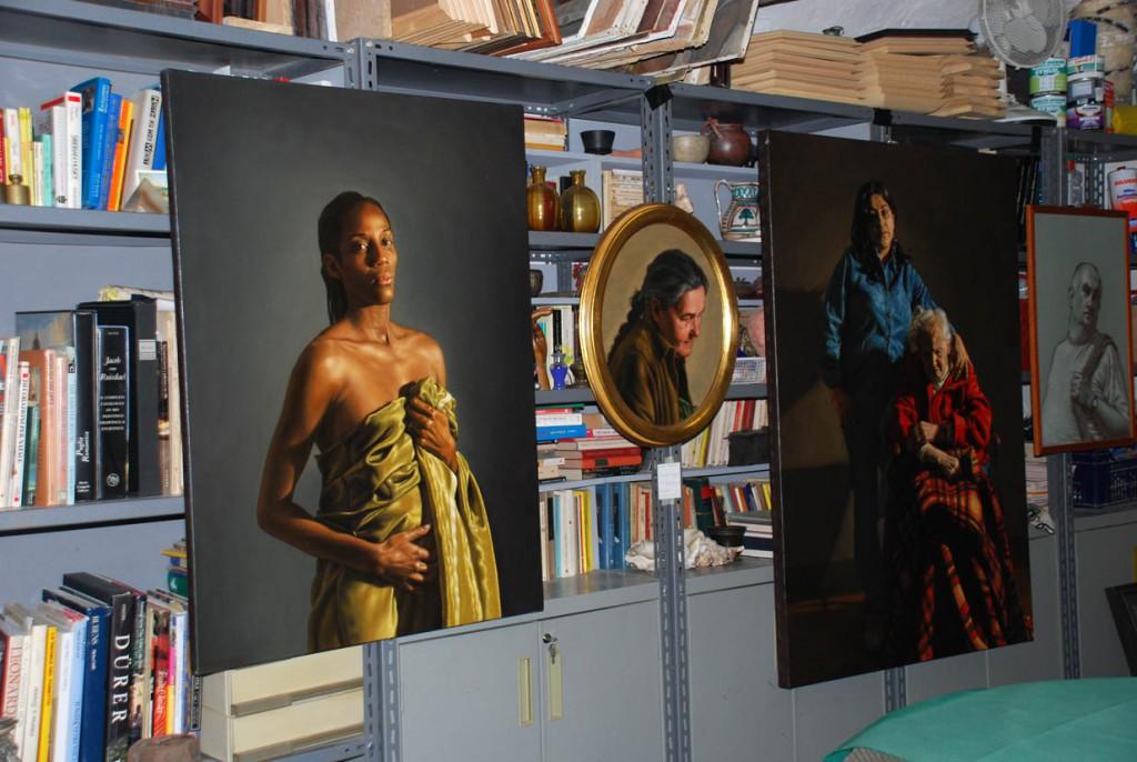 Rocco Normanno studio insieme Per Giorgio arte internazionale a Massa pt