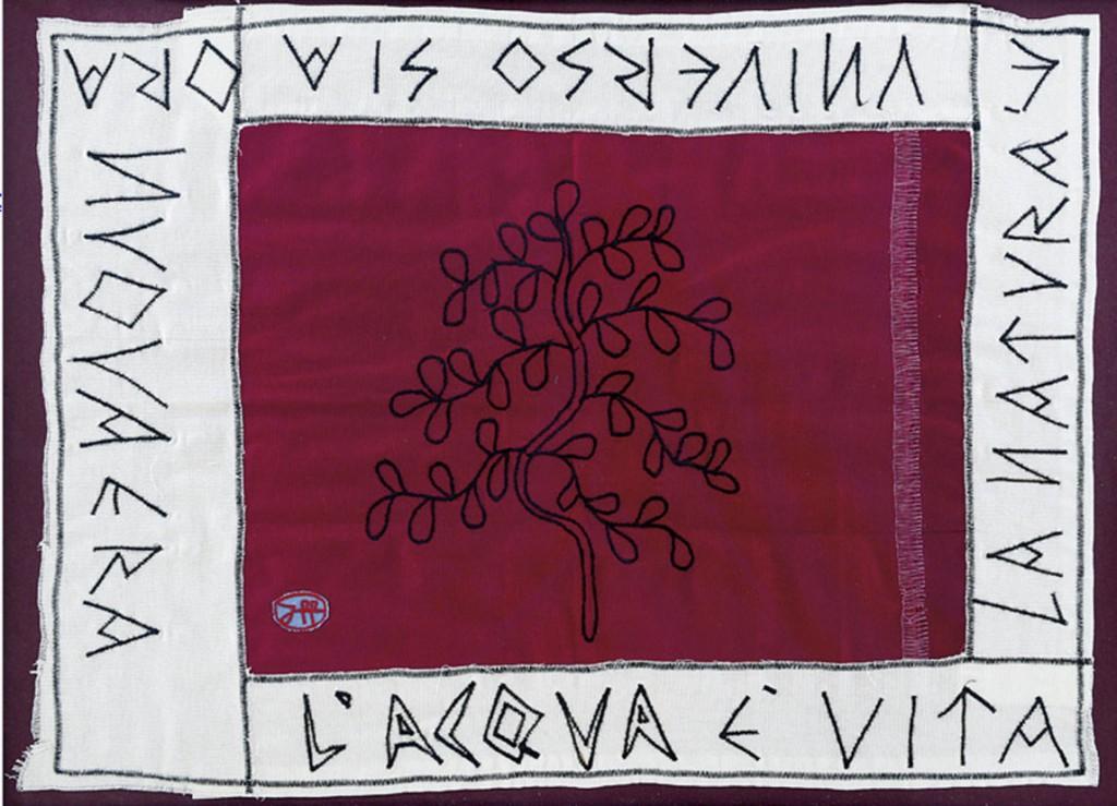 filippo biagioli stoffa rituale ritual cloth acqua curativa