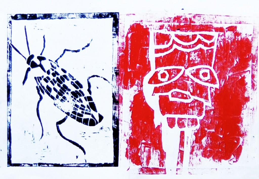 filippo biagioli xilografia work in progress