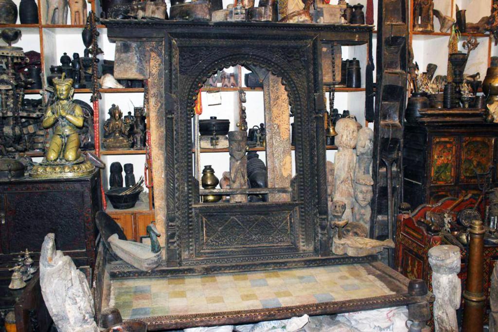 blue moon curio shop kathmandu nepal shiva bhandari gallery prayer figure by filippo biagioli 6