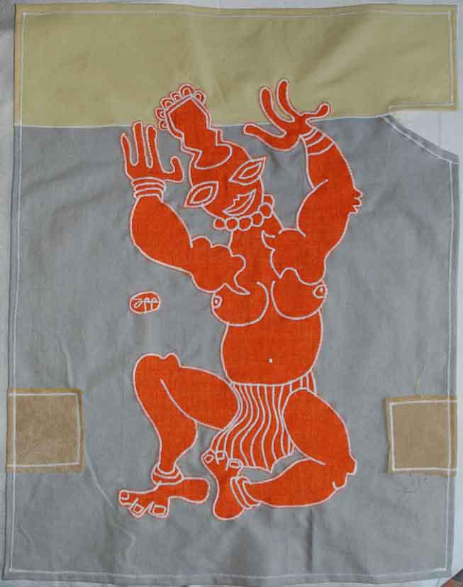 blue moon curio shop kathmandu nepal shiva bhandari gallery ritual cloth by filippo biagioli 1b