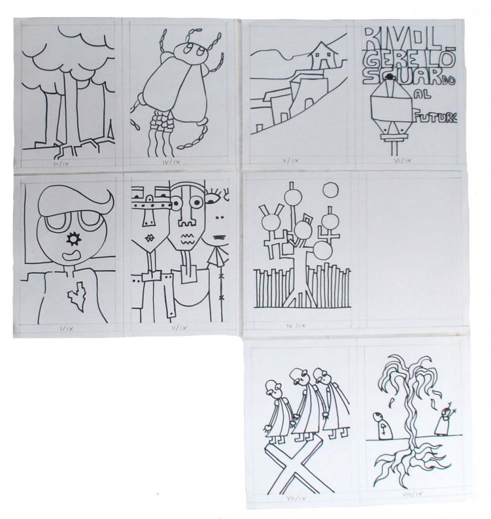 filippo biagioli matrici carbografie SCARAFAGGI