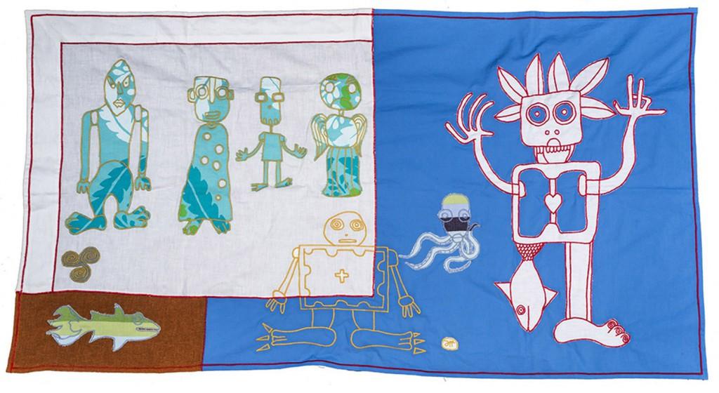 stoffa analphabetica filippo biagioli ritual cloth