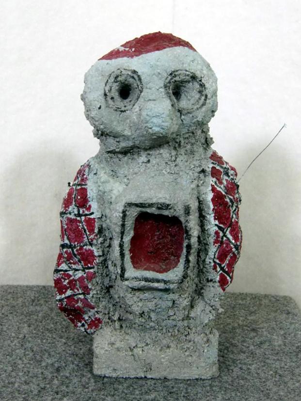 Piccolo Idolo filippo biagioli Arte Atelier Calestani